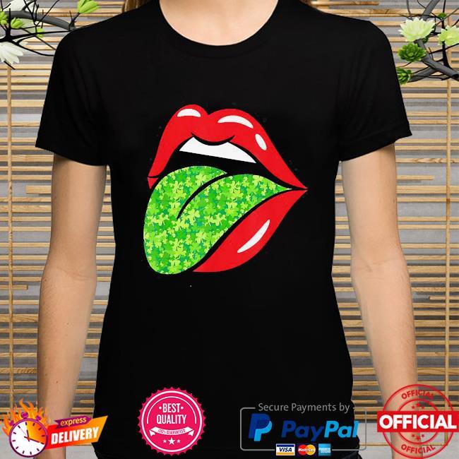 Tongue Lick Irish St.Patrick's Day shirt