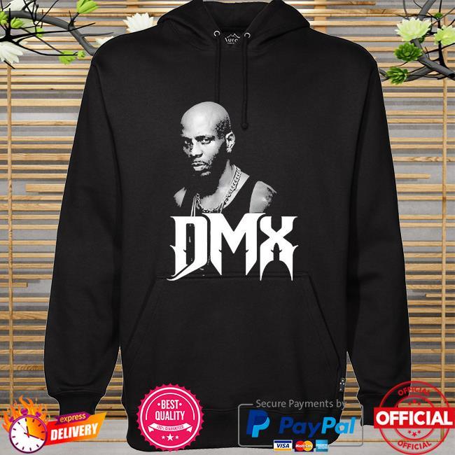 1970 2021 Dmx mens black hoodie