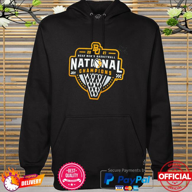 2021 Baylor bears NCAA men's basketball national champions hoodie