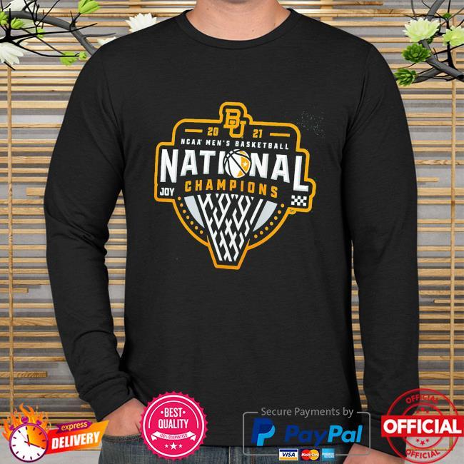 2021 Baylor bears NCAA men's basketball national champions long sleeve