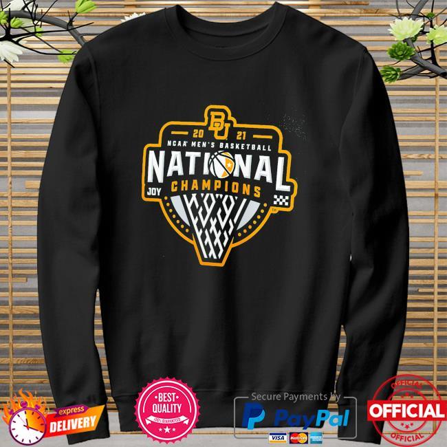 2021 Baylor bears NCAA men's basketball national champions sweater