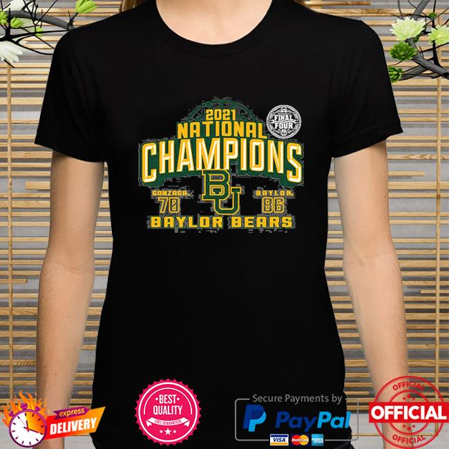 2021 national champions baylor bears final four shirt
