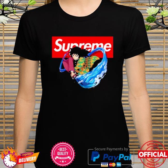 Official Supreme giyuu shirt