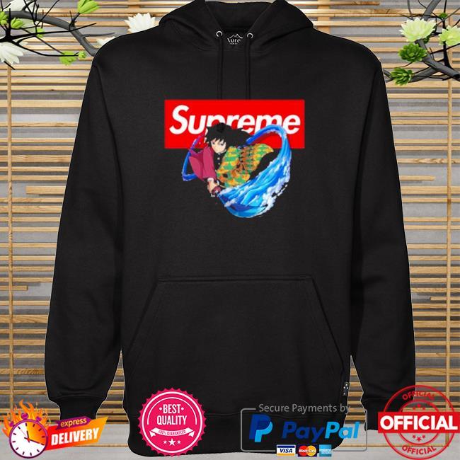 Official Supreme giyuu hoodie