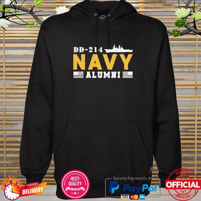 Dd-214 us navy alumni hoodie