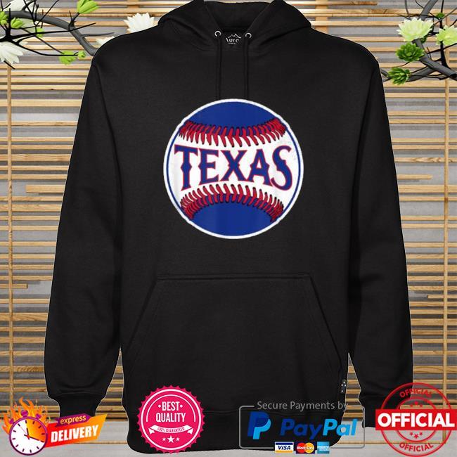 Official Texas baseball tx vintage hoodie
