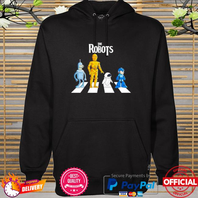 Official Star wars the robots abbey road hoodie