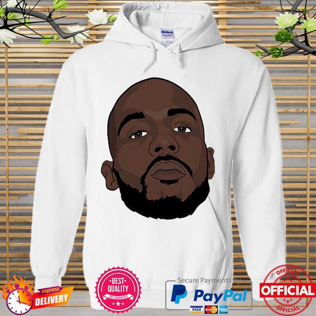 Dmx face hip hop Hoodie white