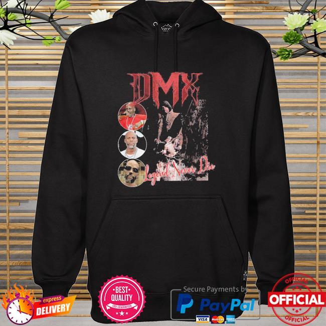 Dmx rapper unisex legend never die hoodie