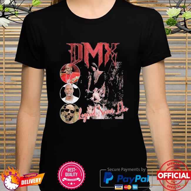 Dmx rapper unisex legend never die shirt