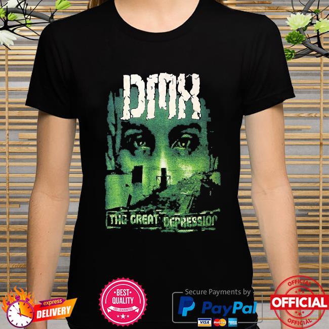 Dmx the great depression t-shirt