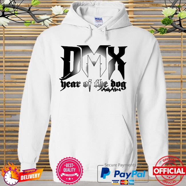 Dmx year of the dog again 2021 Hoodie white