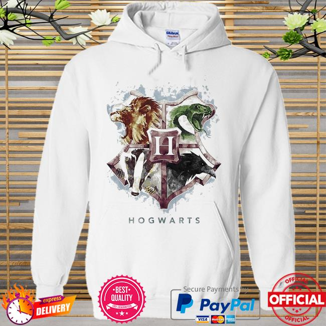 Hogwarts mystic Hoodie white