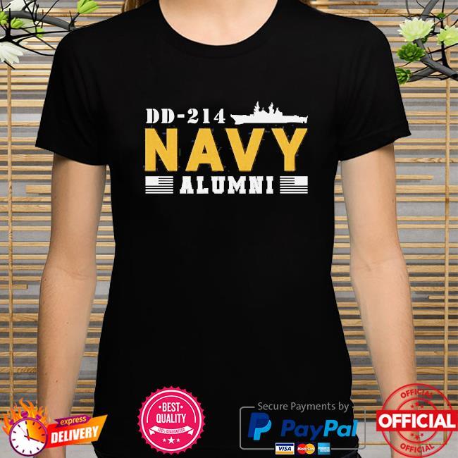 Dd-214 us navy alumni shirt