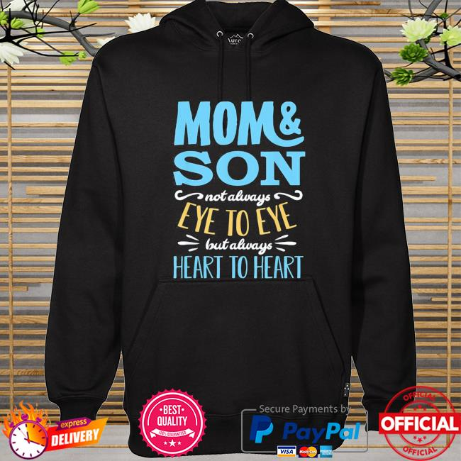 Mothers day shirt from son mom partnerlook hoodie