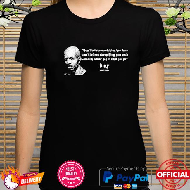 Official Rip Dmx Rapper 1970-2021 shirt