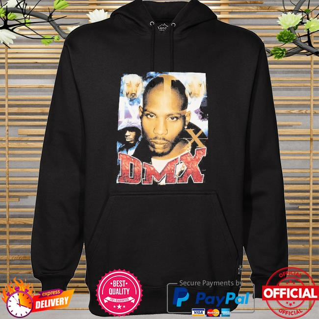 Official Rip Dmx Rapper and Dogs t-s hoodie