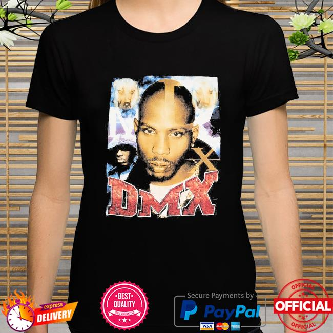 Official Rip Dmx Rapper and Dogs t-shirt