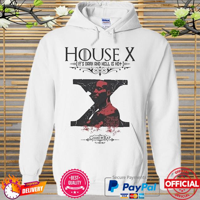 Rip dmx house x it's dark and hell is hot Hoodie white