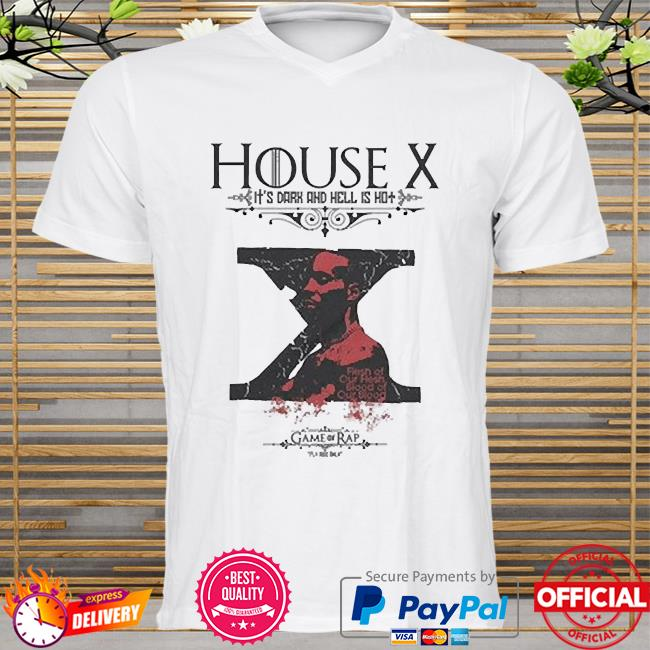 Rip dmx house x it's dark and hell is hot shirt