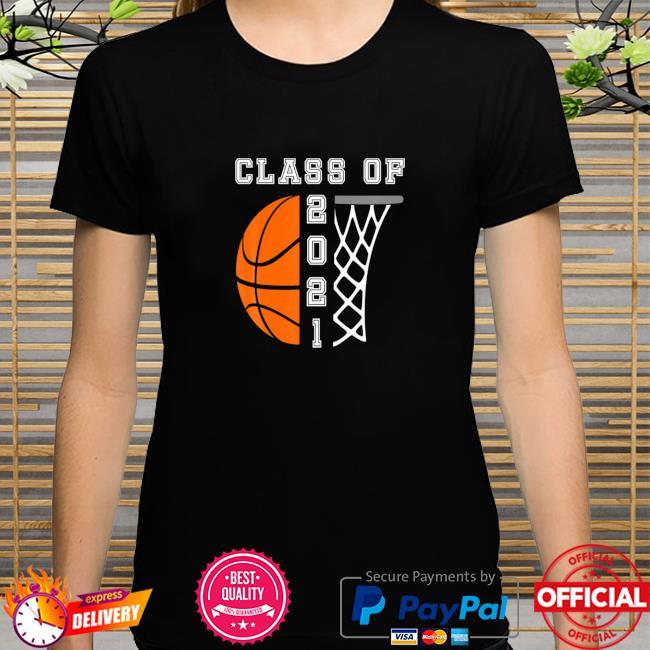 Senior Year Basketball 2021 Graduation Shirt