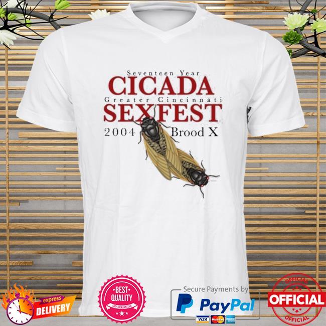 Seven shirtn year gigada greater gincinnati sexfest 2004 shirt