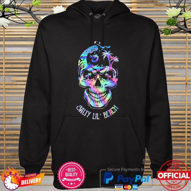Skull salty Lil' beach hoodie