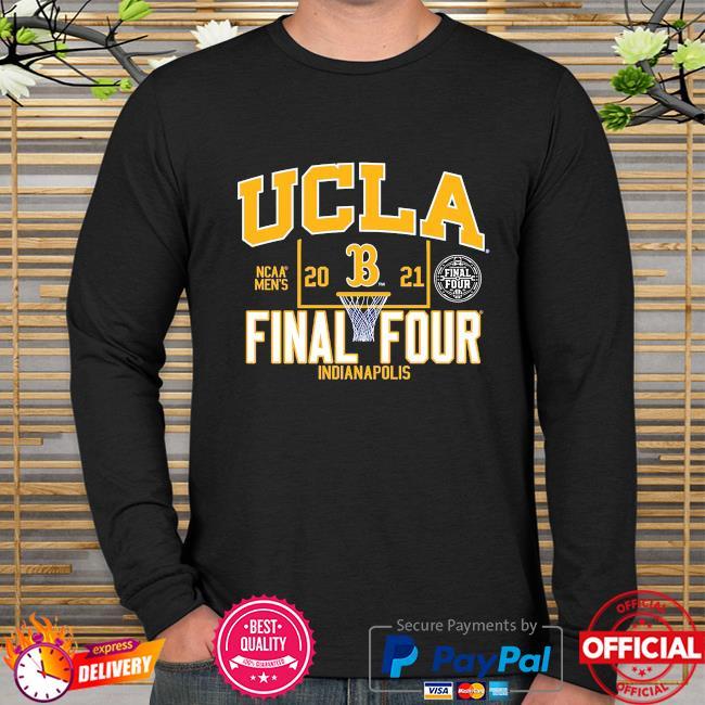 Ucla bruins blue 2021 ncaa men's basketball final four indianapolis long sleeve
