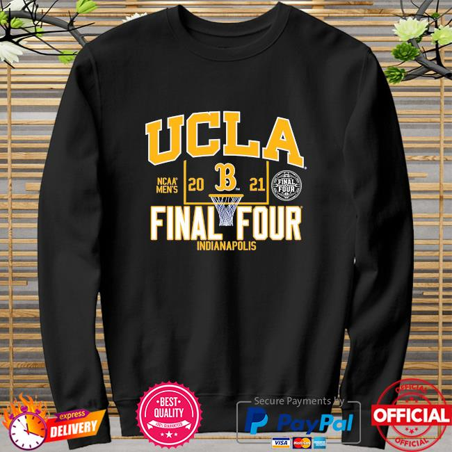Ucla bruins blue 2021 ncaa men's basketball final four indianapolis sweater