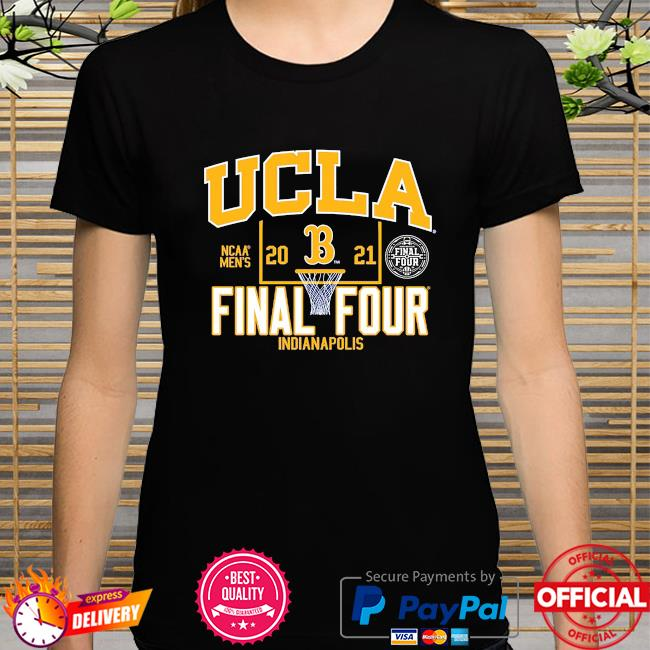Ucla bruins blue 2021 ncaa men's basketball final four indianapolis shirt