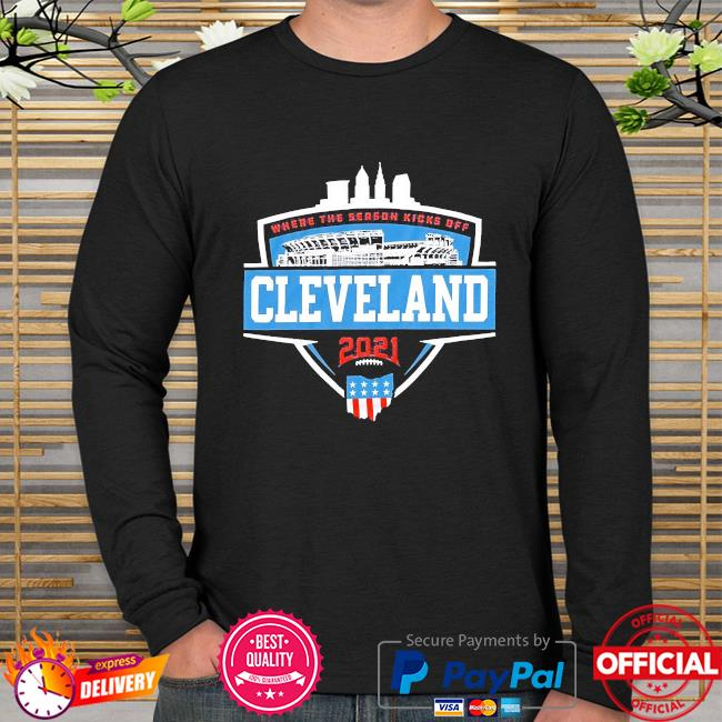 Where the season kicks off Cleveland long sleeve