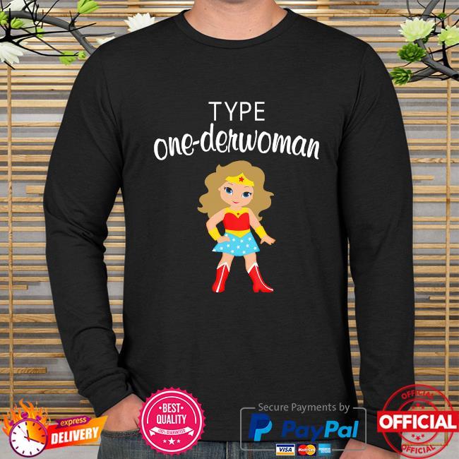 Wonder Woman body type one-derwoman long sleeve
