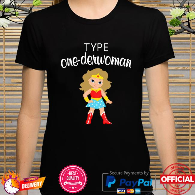 Wonder Woman body type one-derwoman shirt