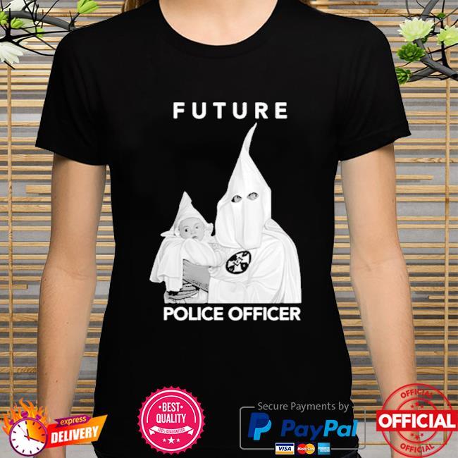 Biggie Future Police Officer shirt