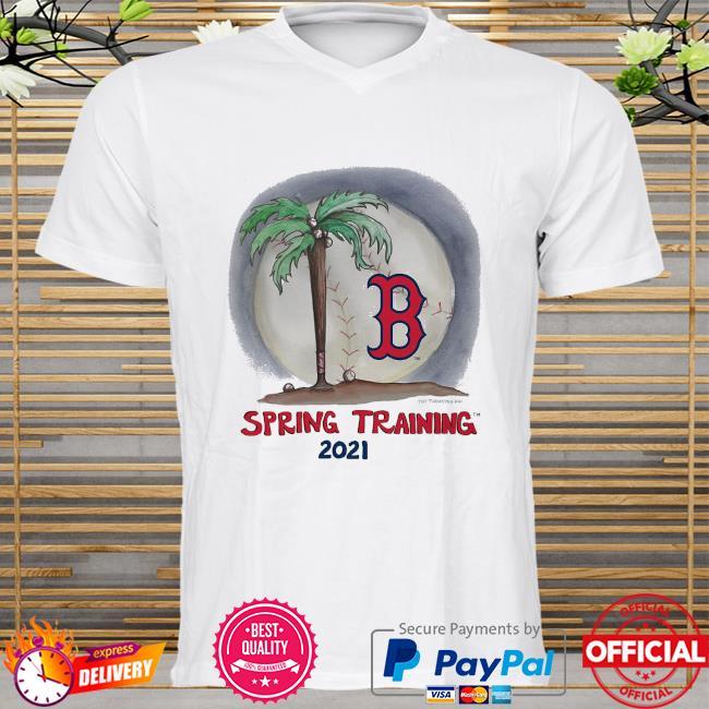 Boston Red Sox Tiny Turnip Infant 2021 Spring Training shirt