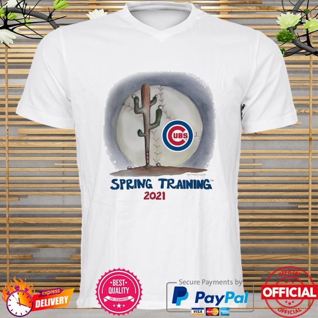 Chicago Cubs Tiny Turnip Youth 2021 Spring Training shirt