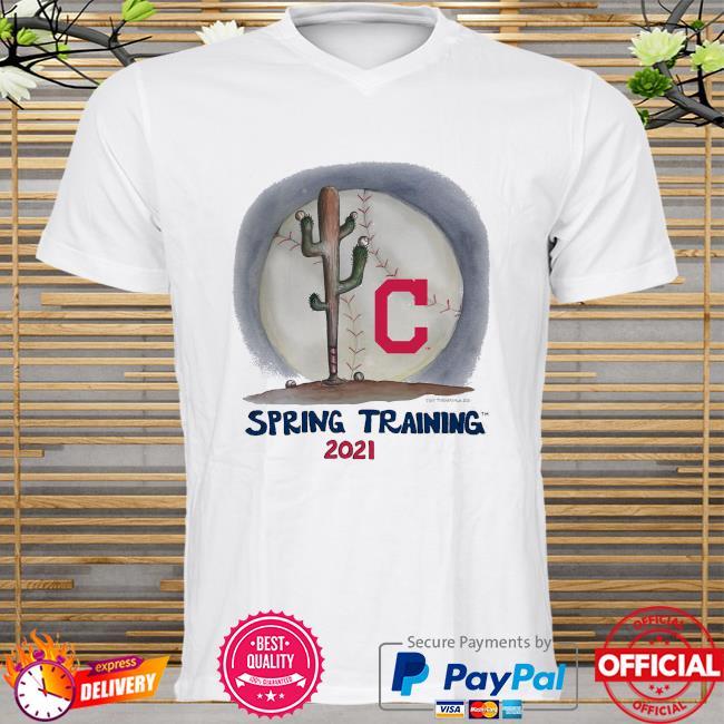 Cleveland Indians Tiny Turnip Infant 2021 Spring Training shirt