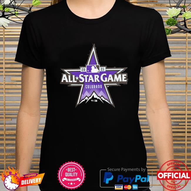 Colorado Rockies 2021 MLB All-Star Game Big and tall shirt