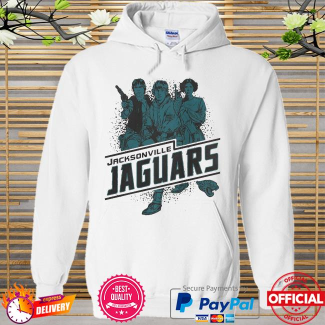 Jacksonville Jaguars Rebels Star Wars Hoodie white