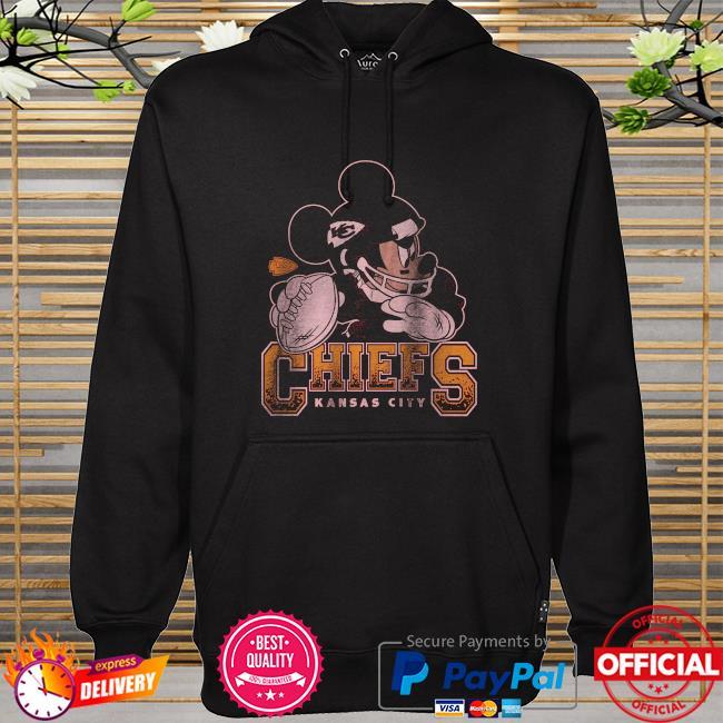 Kansas City Chiefs Disney Mickey hoodie