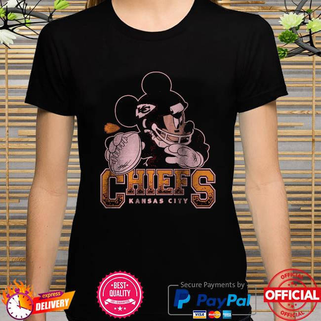 Kansas City Chiefs Disney Mickey shirt