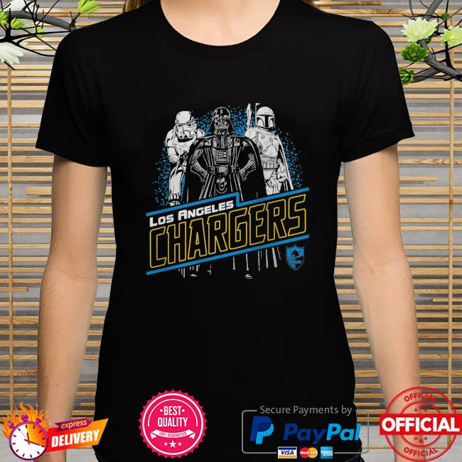 Los Angeles Chargers Empire Star Wars shirt