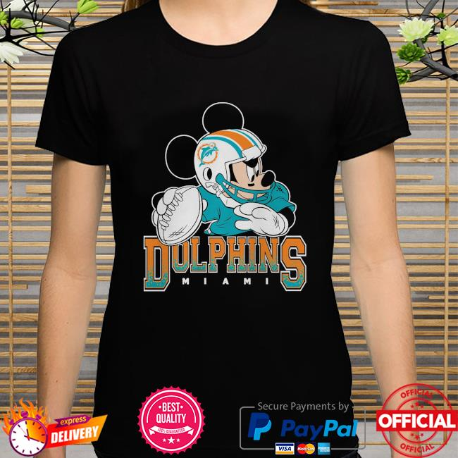 Miami Dolphins Disney Mickey shirt