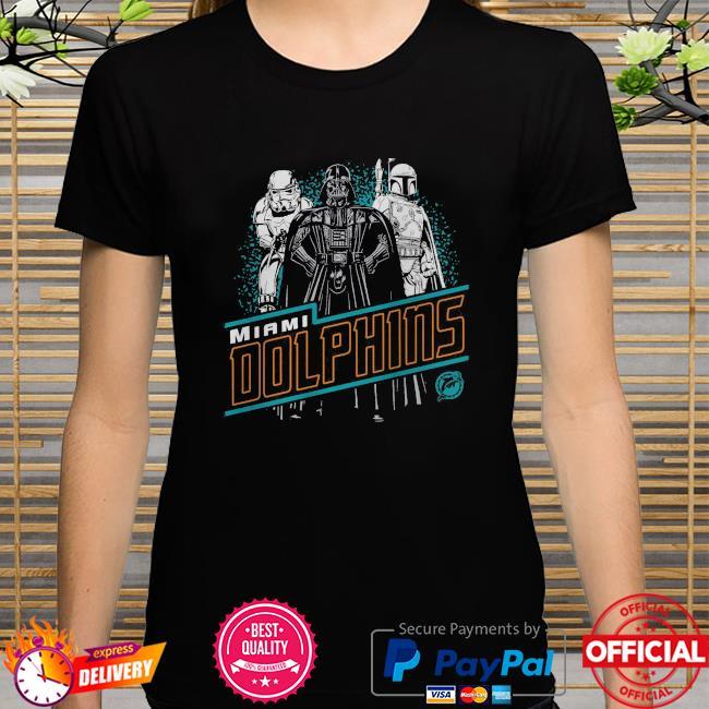 Miami Dolphins Empire Star Wars shirt