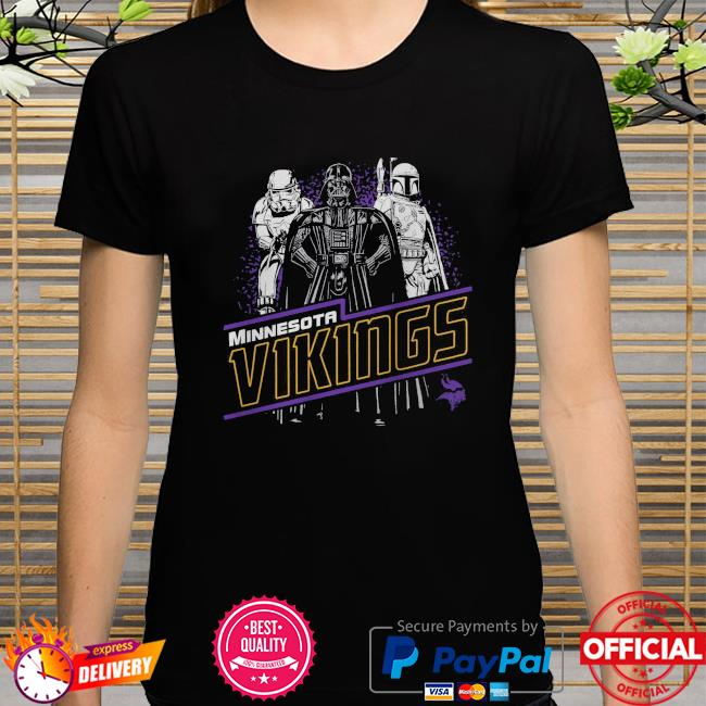 Minnesota Vikings Empire Star Wars shirt