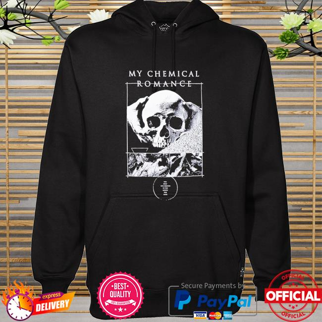 My Chemical Romance Kids From Yesterday Skull hoodie