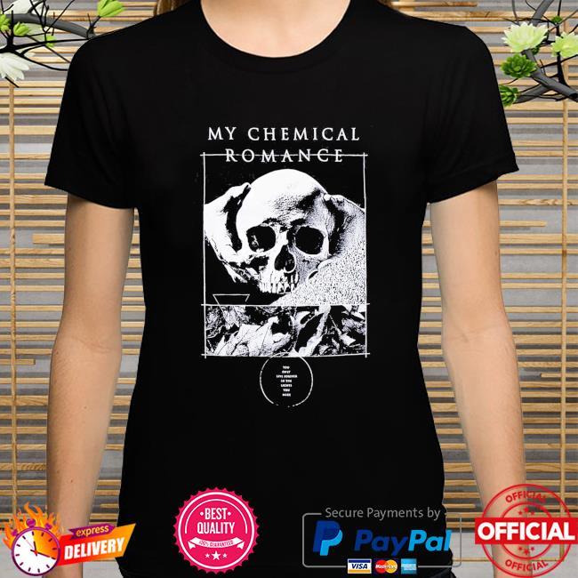 My Chemical Romance Kids From Yesterday Skull shirt