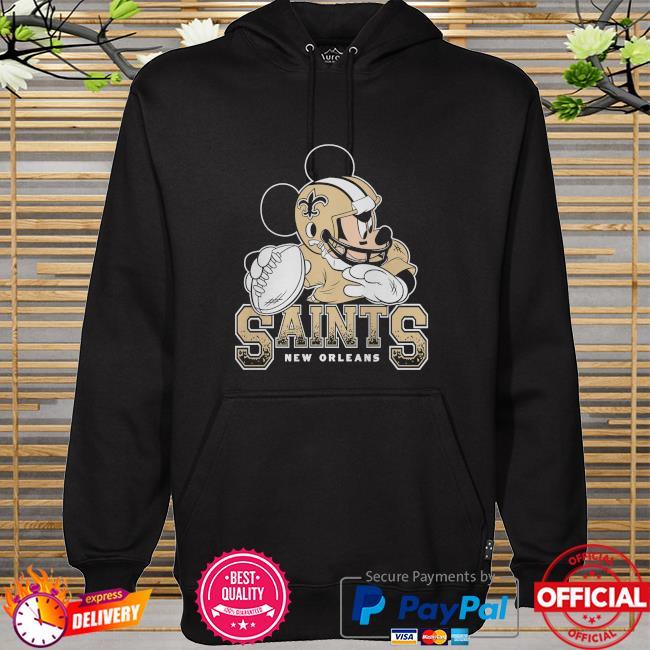 New Orleans Saints Disney Mickey hoodie