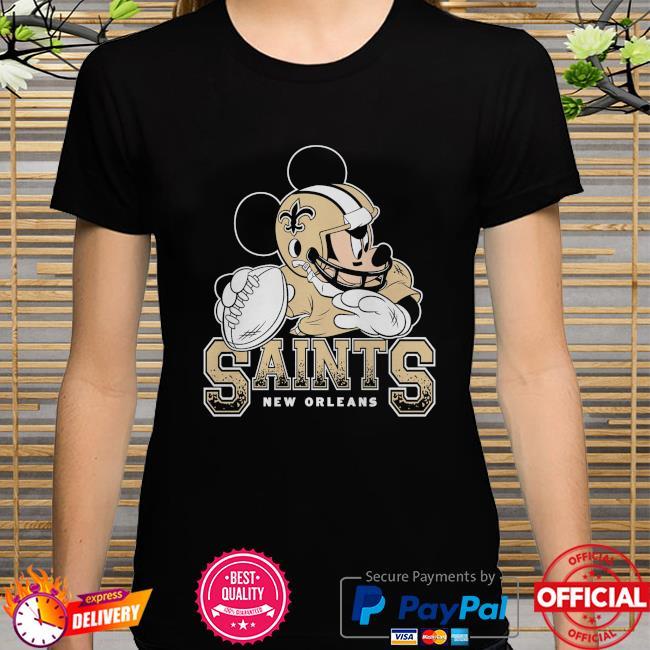 New Orleans Saints Disney Mickey shirt
