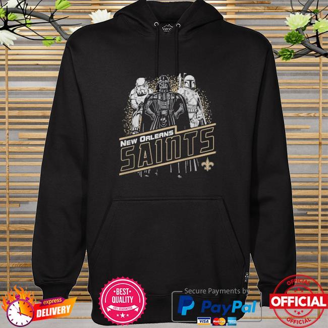 New Orleans Saints Empire Star Wars hoodie